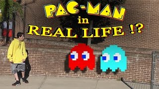 PAC-MAN in REAL LIFE !?