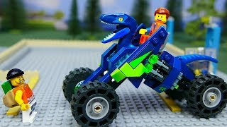Lego Experimental Cars , Rex's Rex treme Offroader from The LEGO MOVIE 2