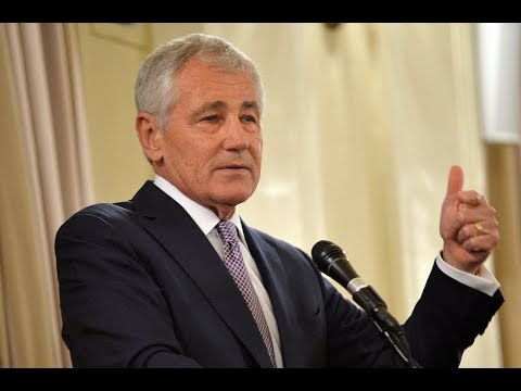 Chuck Hagel defines the future of global politics