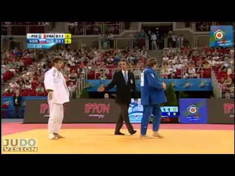 Judo European Championships 2013: Loic PIETRI (FRA) - Ivan VOROBEV (RUS) Bronze [-81kg]