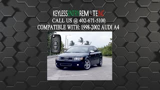 How To Replace Audi A4 Key Fob Battery 1998 1999 2000 2001 2002