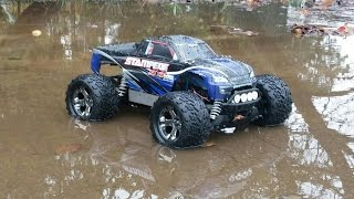 Traxxas Stampede 4x4 Brushed 3s run