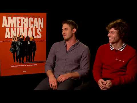 American Animals || Evan Peters & Blake Jenner Generic Interview || SocialNews.XYZ