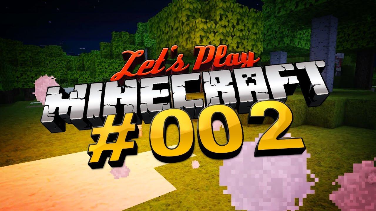Let's Play Minecraft #002 [Deutsch] [full HD] - Eine Nacht