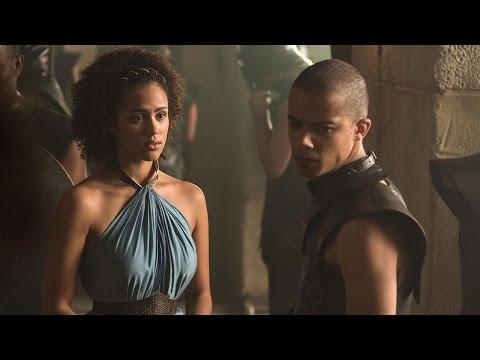 Game of Thrones: Nathalie Emmanual Talks Sex Between Messandei & Greyworm