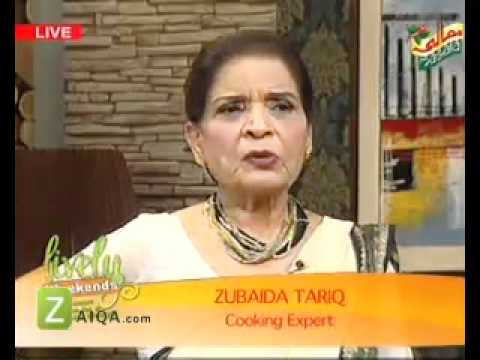 Suji Ka Halwa Hyderabadi Pulao And Daal Achari by Zubaida Tariq...
