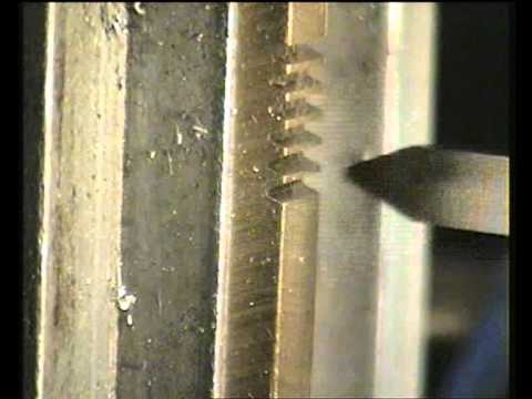 Fly Cutting a rack for a 36 DP pinion gear