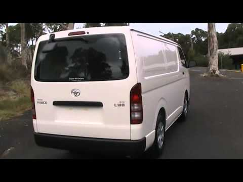 New Toyota Hiace For