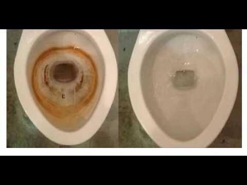 Чем отчистить унитаз от ржавчины и налета своими руками