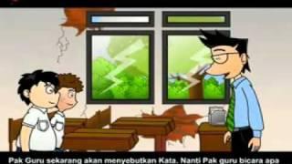 KARTUN LOKAL BAHASA NGAPAK / LOGAT BANYUMASAN (CILACAP) - ANTONIM