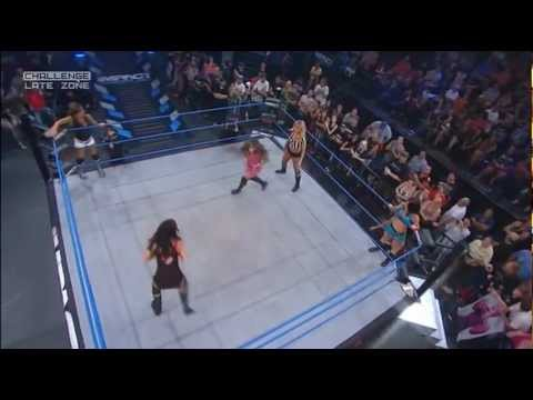 Tara & Madison Rayne vs. Mickie James & ODB