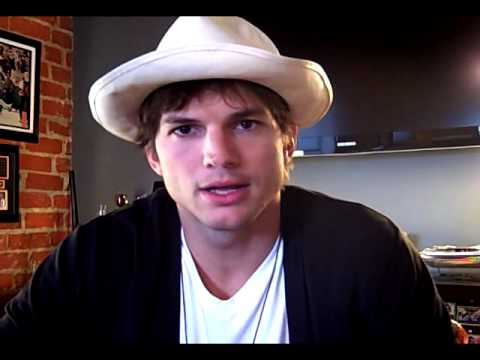 Update from Ashton Kutcher about Twitter challenge