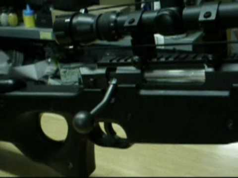 Review WELLl l96 con Modificacion en español by Pau y Airsoft Gandia