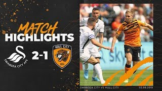 Swansea City 2-1 Hull City | Highlights | Sky Bet Championship