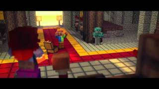 -Fallen Kingdom- - A Minecraft Parody of Coldplay's Viva la Vida (Music Video) Lyrics HD