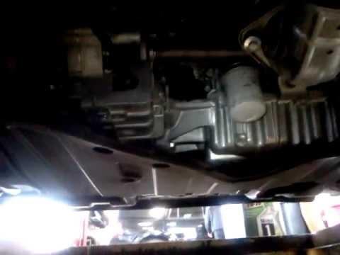 2012 honda accord 2.4 liter oil change - YouTube