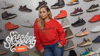 Lauren London Goes Sneaker Shopping With Complex