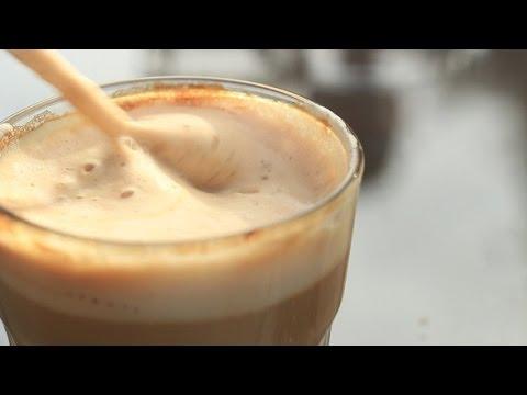 Как сделать чтобы кофе было с пенкой