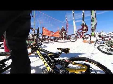 Le Razor Snow Bike de Châtel
