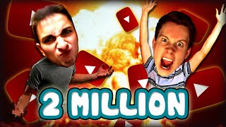 2 MILLION SUBSCRIBERS VLOG! (Q&A, New Parody, Mobile Apps, Draw My Life)