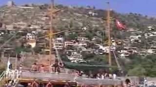 Boottocht in Turkije