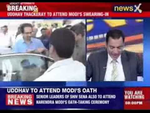 Uddhav Thackeray to attend Modi's swearing-in