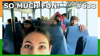 INDIAN BUS TRAVEL LEH LADAKH DAY 633 | TRAVEL VLOG IV