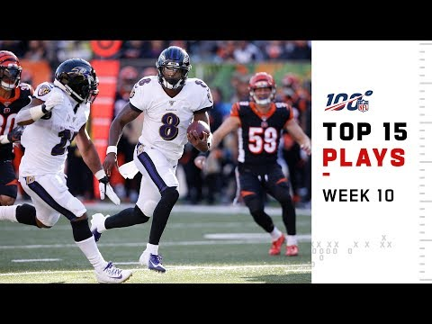 Top 15 Plays from Week 10  NFL 2019 Highlights