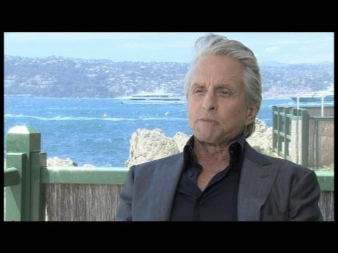 Behind the Candelabra : Interview of Michael Douglas at le Festival de Cannes - 21/05