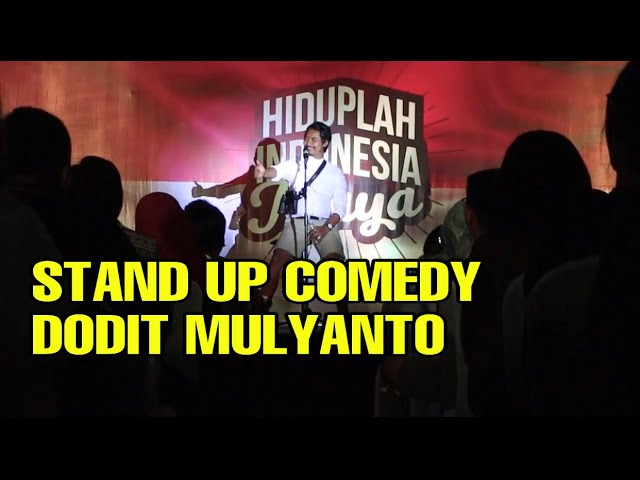 STAND UP COMEDY DODIT MULYANTO WITH PANDJI PRAGIWAKSONO