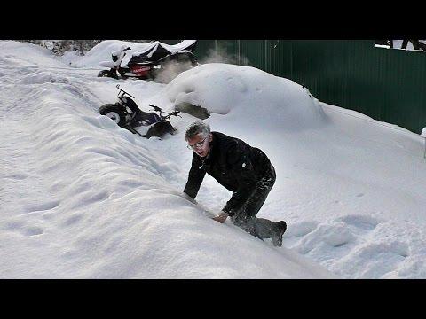 Подготовка квадроцикла Avantis к зимним покатушкам