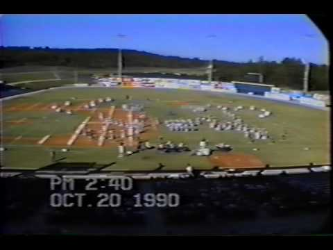 W.A. Berry High School Marching Band - 1990 Invitational