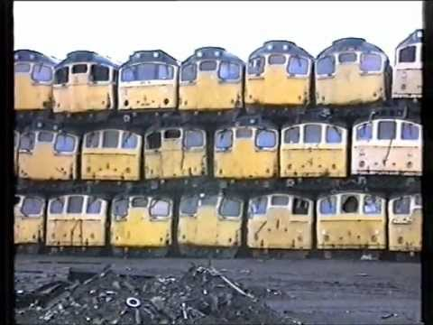VIC BERRY'S SCRAPYARD. VIDEO.  LEICESTER. 1987.