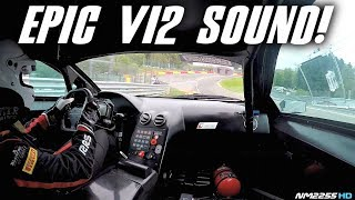 Lamborghini Murcielago 670 R-SV GT1 OnBoard at Spa-Francorchamps - EPIC Sounds!