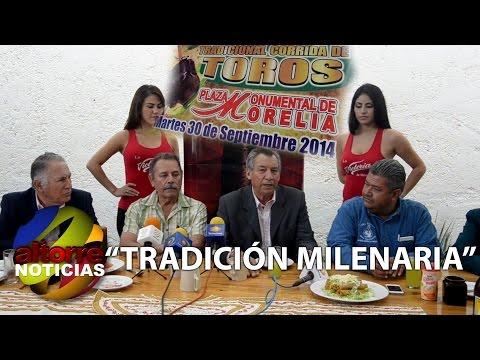 FIESTA DE TOROS, TRADICIÓN MILENARIA COMO NUESTRA MORELIA: EMPRESARIOS