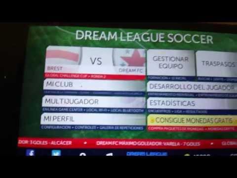 Opción Multijugador Dream League Soccer