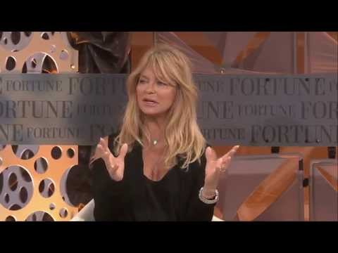 Goldie Hawn on Her Career and Her Calling | Full Interview Fortune MPW