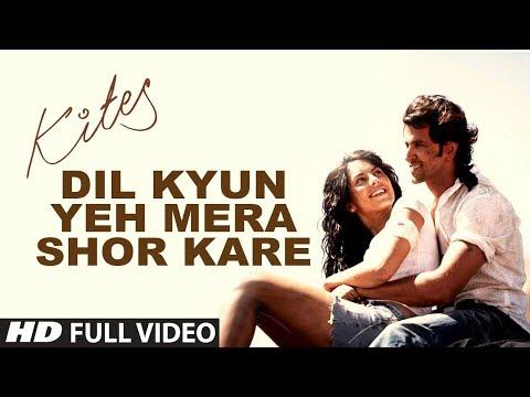 Kites  dil Kyun Yeh Mera Shor Kare Full Song (hd) | Hrithik Roshan, Bárbara Mori video