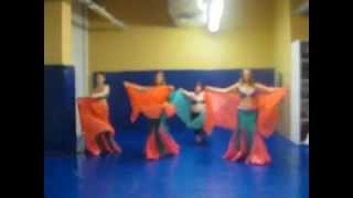 Репетиция в костюмах. Belly Dance