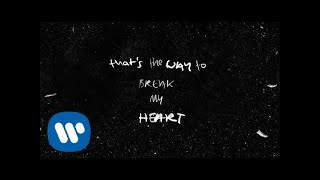 Ed Sheeran - Way To Break Your Heart (feat. Skrillex) [Official Lyric Video]