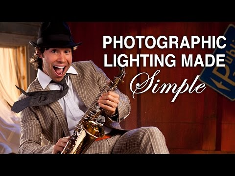0 Photographic Lighting Made simple!  DSLR 3 Light Portrait Lesson Part One 1.mp4