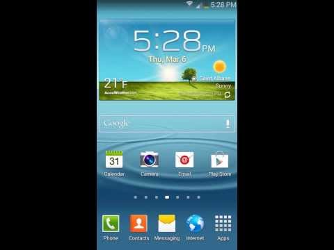 Samsung Galaxy S3/S4/S5 - Factory Reset Tutorial