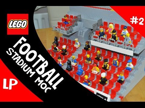 LEGO Football Stadium MOC Update #2