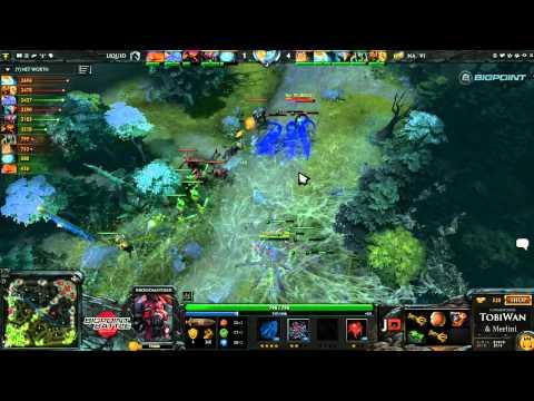 Na'Vi vs Team Liquid Game 2 - Bigpoint Battle DOTA2 - TobiWan