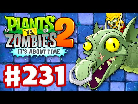 Plants vs. Zombies 2: It's About Time - Gameplay Walkthrough Part 231 - Zomboss Dragon Fight! (iOS) Music Videos