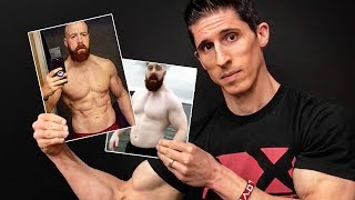 Stronger, Healthier & Ripped at 40 (HOW HE DID IT!)