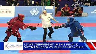 SEA Games 2019: PHL VS VIE on LS Welterweight Men's Division FINALS | Arnis