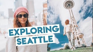 Exploring Seattle - CityPASS, Donuts, PopCulture Museum, Great Wheel, China Town & Gumwall