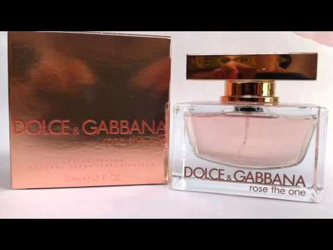 Духи Dolce Gabbana D&G Rose The One