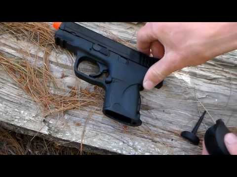 VFC Smith & Wesson M&P 9C Gas BlowBack Airsoft Pistol Review